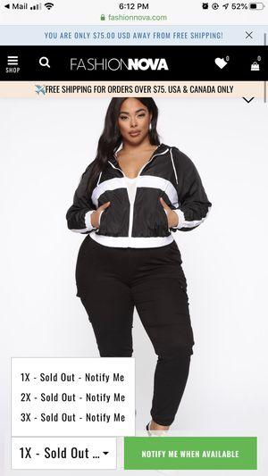 Fashion nova 3x jacket for Sale in Montebello, CA