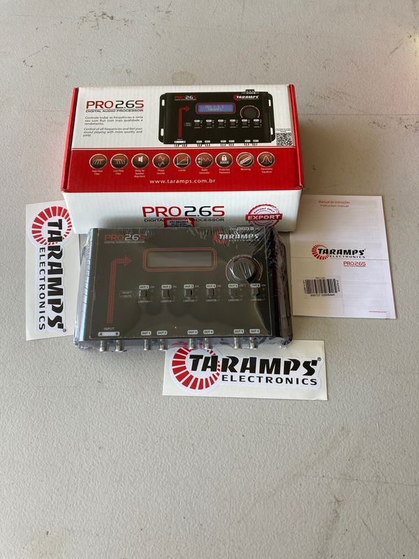 Taramps pro 2.6s digital audio processor