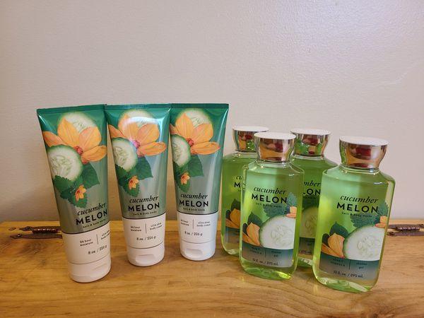 Bath & Body Works Cucumber Melon Signature Collection