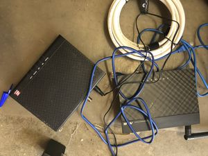 Asus wifi router and modem docsis 3.0 with cables for Sale in Sunnyvale, CA