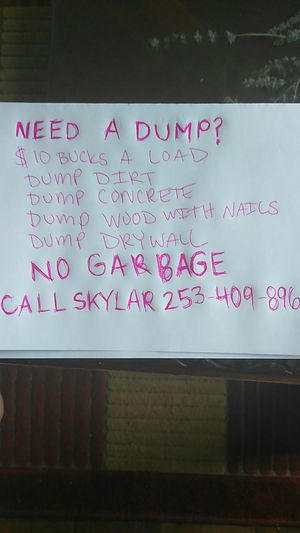 Need to dump ? for Sale in East Wenatchee, WA
