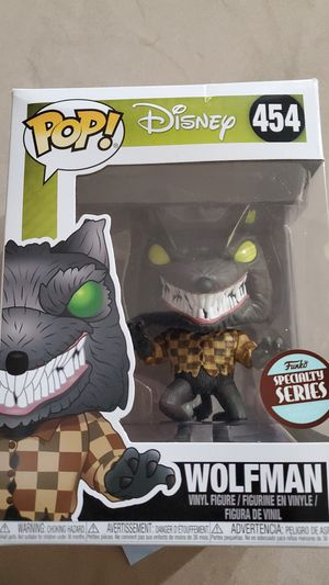 Disney Wolfman Pop Funko for Sale in Las Vegas, NV