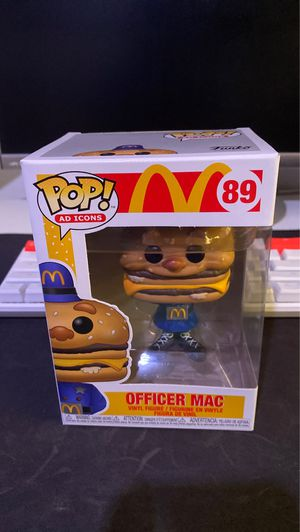 Officer Mac Funko Pop for Sale in Chula Vista, CA