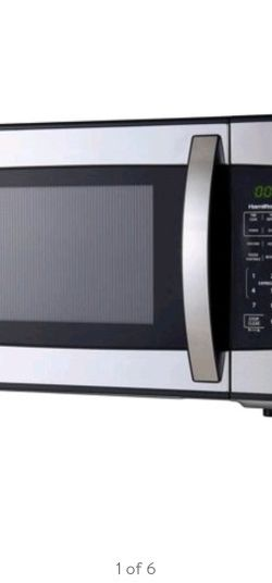 Hamilton Beach 1.1 Cu. Ft. 1000W Stainless Steel Microwave for Sale in Bellevue,  WA