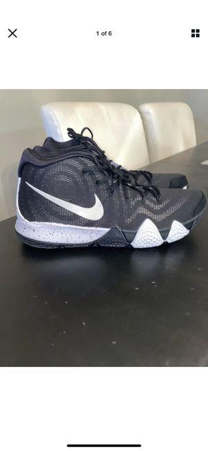 Mens Nike Kyrie 4 TB Shoes Size 17 Black White New AV2296 001 for Sale in Columbus, OH