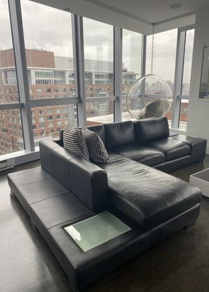 Leather couch/sofa for sale for Sale in Boston, MA