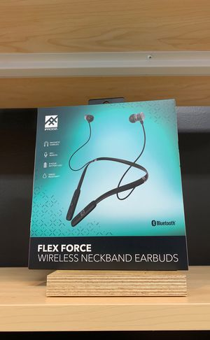 Flex Force wireless neckband earbuds for Sale in Houston, TX