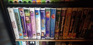 Disney classic VHS movies and other kids movies for Sale in Fresno, CA