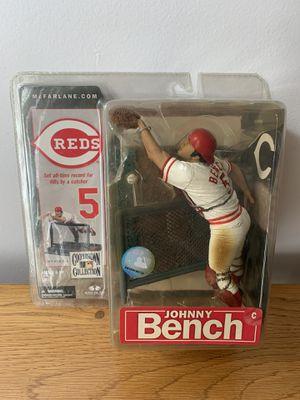Johnny Bench Cincinnati Reds Action Figure for Sale in Tampa, FL