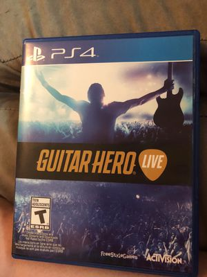 PS4 guitar hero for Sale in Cleveland, OH