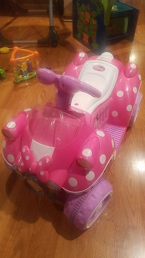 Disney minnie mouse 6v Quad Ride on for Sale in Chicago, IL