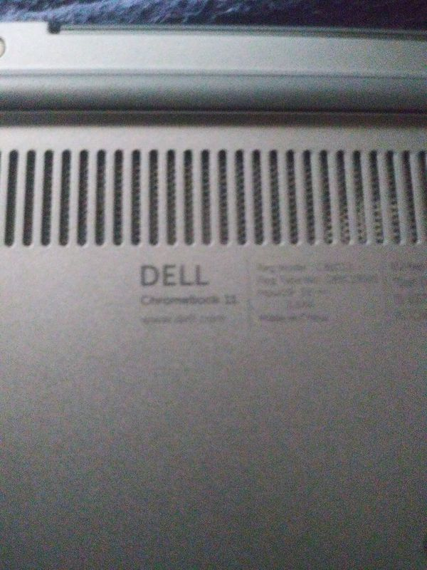 "Dell Chromebook 11, 10.5GB storage space, 11"" screen"