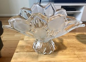 Fruit Vase/Glass Center Piece for Sale in Dulles, VA