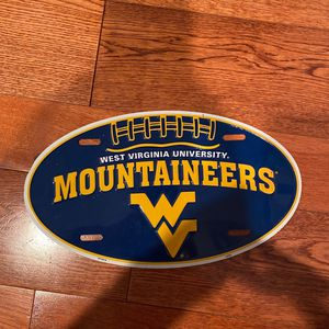 WVU Metal Sign for Sale in Sykesville, MD