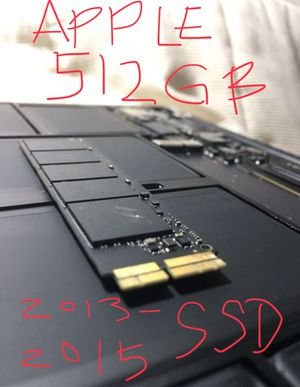 512gb OEM Apple SSD 2013-2015 MacBook Pro and MacBook Air for Sale in Tempe, AZ