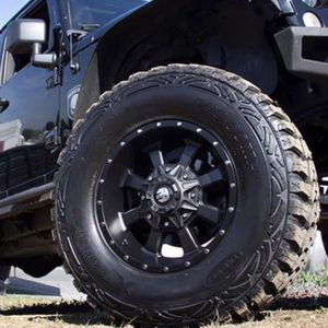 """17"""" WHEELS & TIRES PACKAGE - TrailMaster Satin Black - Complete Package Only $1199 for Sale in La Habra Heights, CA"""