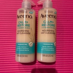 Aveeno Calm+Restore Nourishing Oat Cleanser (2) for Sale in Costa Mesa, CA