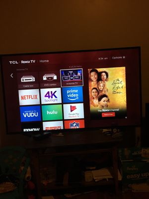 Roku Tv TCL 55 inch for Sale in Elgin, IL