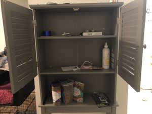 Cabinet with shelf for Sale in Tallahassee, FL