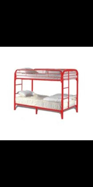 Twin over twin bunk bed for Sale in Sophia, NC