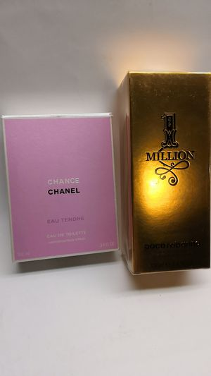 Chanel chance perfume and paco for Sale in Hyattsville, MD