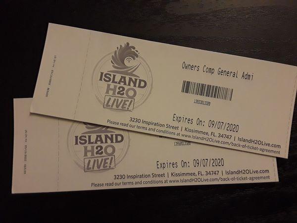 Island H2O live tickets