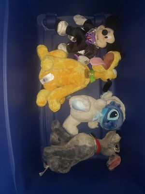 Large bag of stuffed animals for Sale in Whittier, CA