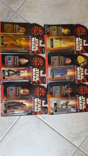 STAR WARS ACTION FIGURES for Sale in Escondido, CA