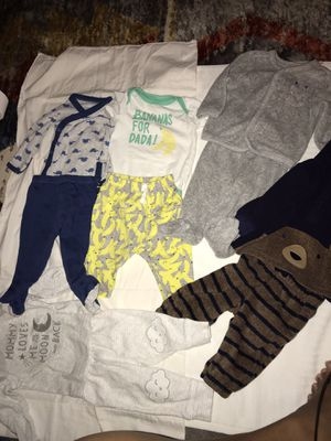 3 Month baby boy clothes for Sale in Peachtree Corners, GA