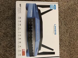 Linksys WRT1900AC AC1900 Dual-Band WiFi Router for Sale in Amarillo, TX