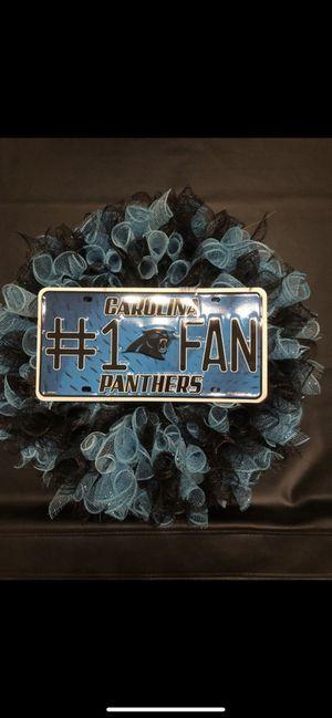 Carolina Panthers Wreath for Sale in Avondale, AZ