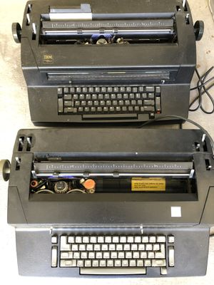 IBM Selectric Typewriters - For Parts - Free for Sale in Houston, TX