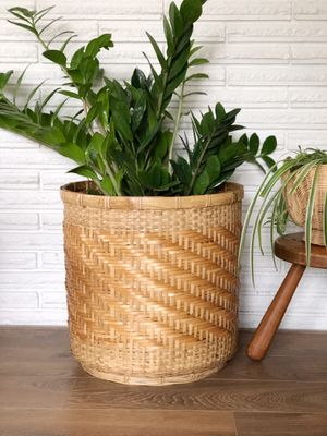 Large vintage wicker planter basket for Sale in Hillsboro, OR
