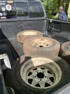 15 inch trailer tires four of them for Sale in Eagleville, PA