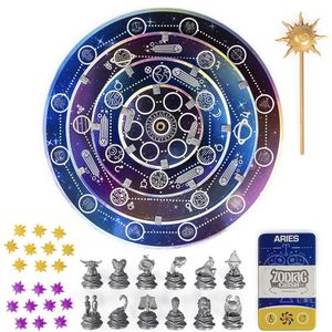 Spin Master Games Zodiac Clash, Strategic 3D Solar System Board Game, for 2 or 4 Players Aged 8 and Up (6053078) for Sale in Florence, SC