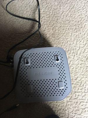 Belkin AT&T internet router for Sale in Saint John, IN