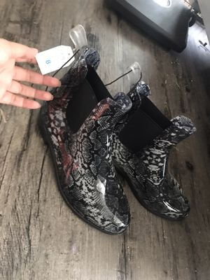 Snake skin rain boots for Sale in Round Rock, TX