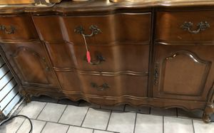 1950's Bassett French Provincial Buffet for Sale in Los Angeles, CA