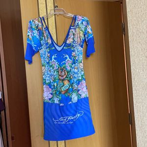 Ed Hardy Crystal Floral Dress for Sale in Miami, FL