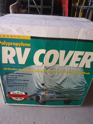 New rv cover make a offer for Sale in Middleburg, PA