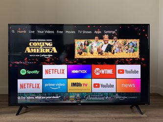 TCL 55''4K ROKU SMART TV (+ Amazon Fire stick) for Sale in Portland,  OR