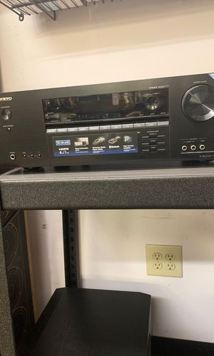 ONKYO receiver w/ Bluetooth for Sale in Raleigh, NC