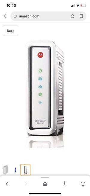 Motorola Surfboard 3.0 Modem for Sale in Teaneck, NJ