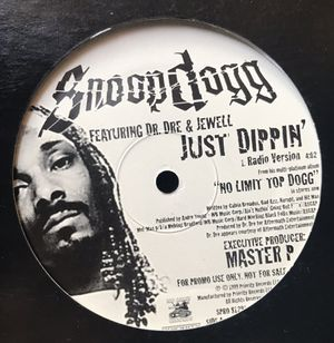 Snoop Dogg - Just Dippin' - (12-inch Vinyl Record) Single for Sale in Corona, CA