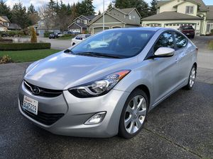 Hyundai Elantra 2012 Limited for Sale in Mukilteo, WA