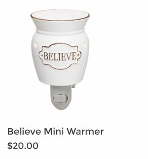 "Brand New Mini Plug in ""Believe ""Scentsy Warmer for Sale in Tigard, OR"