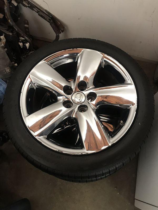 "Lexus Ls460 19"" chrome oem wheels"