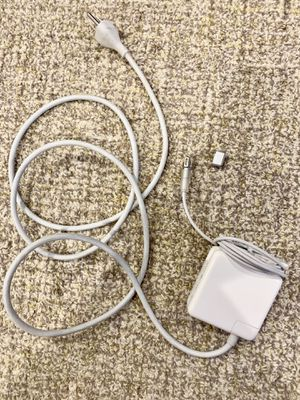 MacBook charger with adapter/ converter for Sale in Redmond, WA
