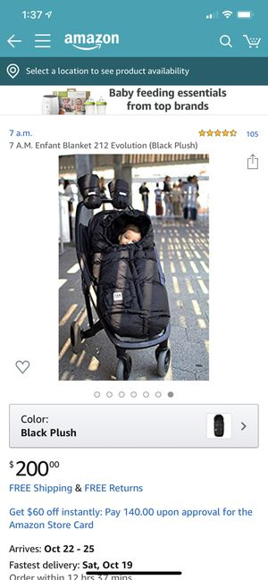 Sleeping bag for stroller new for Sale in Nashville, TN