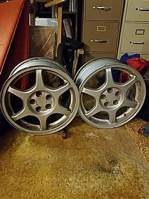 Two 16in subaru wheels 50$ obo for Sale in Salt Lake City, UT
